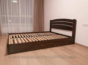 """Двуспальная  кровать """"Ирина""""  массив дерева ясень, фото 2"""