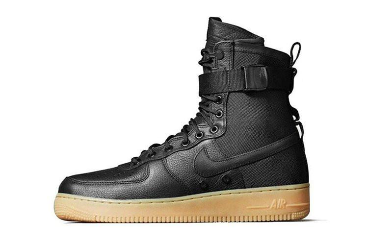 d56e086f Мужские кроссовки Nike Air Force SF1 Black - Обувь и одежда с доставкой по  Украине в