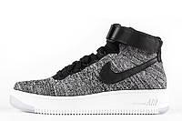 Мужские кроссовки Nike Air Force 1 Ultra Flyknit Grey, фото 1