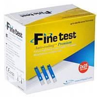 Тест-полоски Finetest Premium (Файнтест Премиум) ,50 шт.в уп