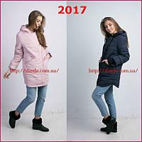 Женская куртка большого размера батал Hailuozi весна 17-18
