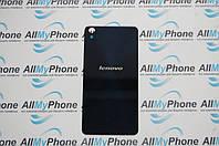 Задняя панель корпуса для мобильного телефона Lenovo S850 черная