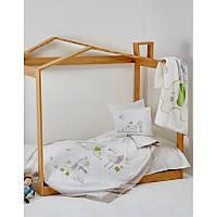 Постельное белье для младенцев Karaca Home - Happy Days ранфорс