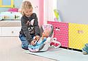 Кресло люлька переноска для куклы Беби Борн Baby Born Комфортное путешествие Zapf Creation 822265, фото 3
