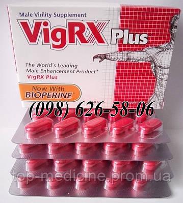 VigRX Plus. 60 таблеток препарат для потенции и увеличения члена