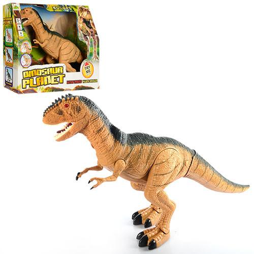 Игрушка динозавр Тираннозавр Рекс RS6125 ходит, звук, свет