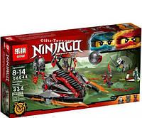 "Конструктор Lepin Ninjago 06044""Алый захватчик"" 334 деталей   Нинзяго."