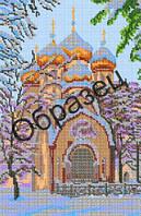 Схема для вышивки бисером «Новодевичий монастырь»