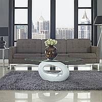 Стол журнальный Ирис, дизайнерский журнальный стол Oval