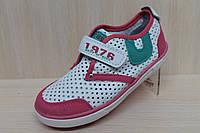 Детские кроссовки мокасины на девочку тм JG р.28
