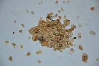 Грунт для аквариума крошка мраморная желтая 3-5 мм