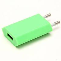 Адаптер питания Apple USB мощностью 5 Вт (разные цвета) Поштучно Салатовый