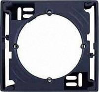 Коробка для наружного монтажа одиночная Schneider Electric Sedna, цвет графит