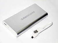 Power Bank Samsung 20000 металл Портативный аккумулятор, фото 1