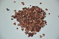 Грунт для аквариума крошка розовая кварцит 3 - 5 мм 1кг