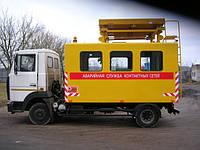 Машина аварийная для ремонта контактных сетей АТ-70М-041