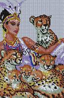 Схема для вышивки бисером «Укрощая хищника»