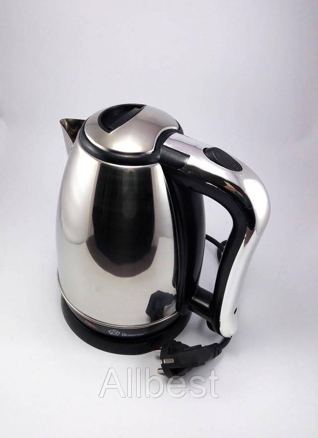 Чайник электрический нержавеющая сталь  Domotec MS-5002
