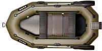При заказе -7% Лодка надувная Bark Двухместная гребная, реечный настил, навесной транец, комплект