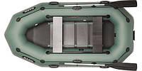 Лодка надувная Bark B-270PD Двухместная гребная  (БЕСПЛАТНАЯ ДОСТАВКА ПО УКРАИНЕ)