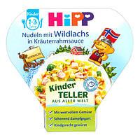 HiPP Nudeln mit Wildlachs in Kräuterrahmsauce - Макароны с лососем в нежном сливочном соусе с травами, 250 г