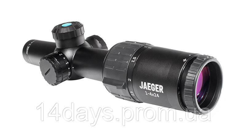 Оптический прицел YUKON Jaeger 1-4x24 Т01і