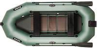 При заказе -7% Лодка надувная Bark Трехместная гребная, реечный настил, навесной транец, комплект