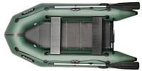 При заказе -7% Лодка надувная Bark Двухместная моторная, реечный настил, комплект (двигающие сидения)