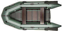 При заказе -7% Лодка надувная Bark Трехместная моторная, реечный настил, комплект