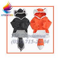 ОПТ Креативные флисовые кофты с капюшоном для детей и взрослых (заказ от 50 шт), фото 1