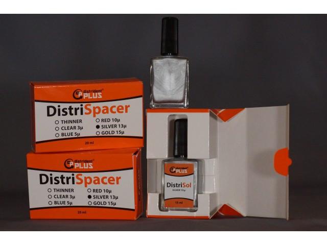 Компенсаційний лак DistriSpacer срібло 13 мкм 15 мл