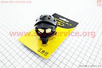 Интересный велосипедный звонок шлем  механический  черный SBL-452  SPELLI