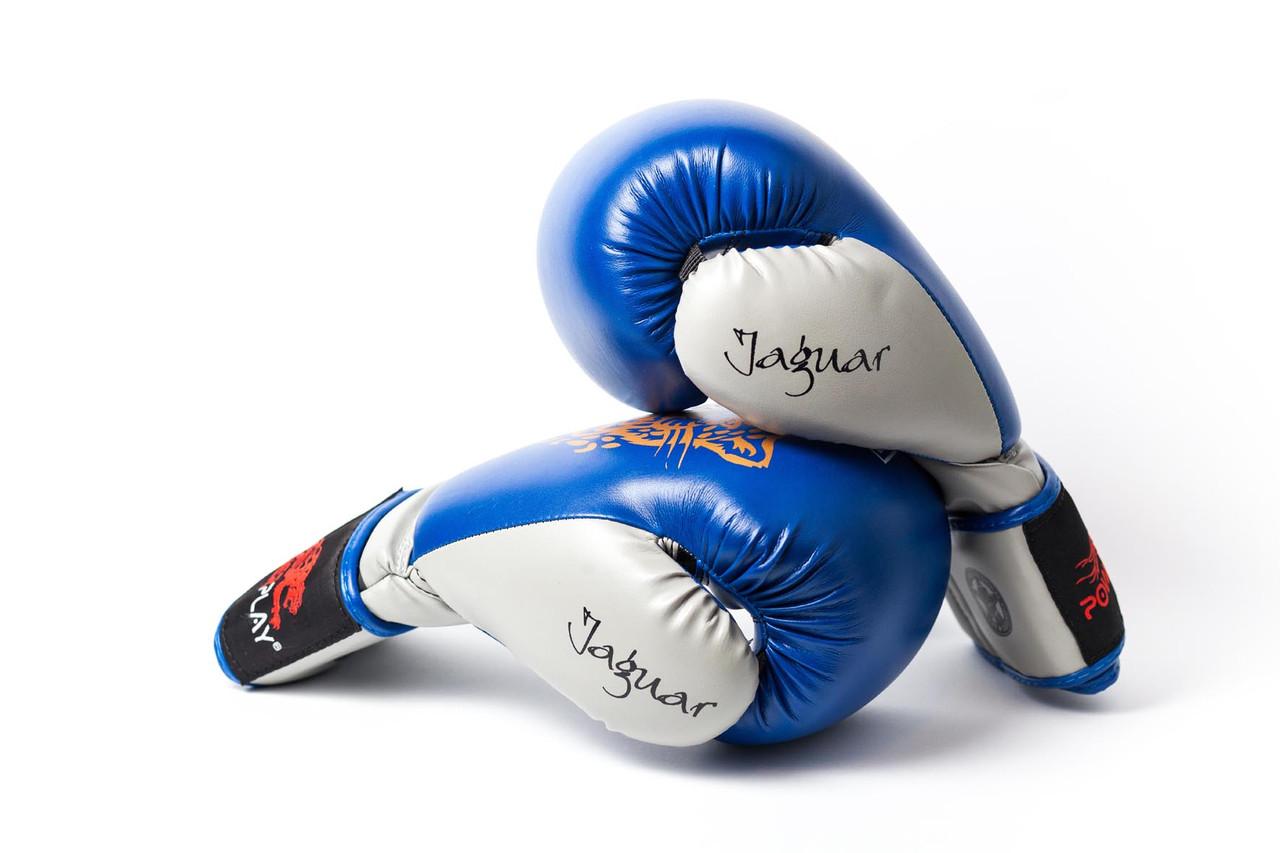 Боксерские перчатки  Jaguar Predator Serits Blue