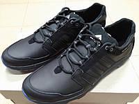 Чёрные мужские кроссовки , натуральная кожа ТМ EXTREM., фото 1