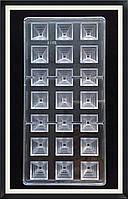 Поликарбонатная форма Пирамида для конфет, карамели, шоколада