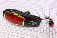 Велосипедный звонок  электронный  черный JY-2000B