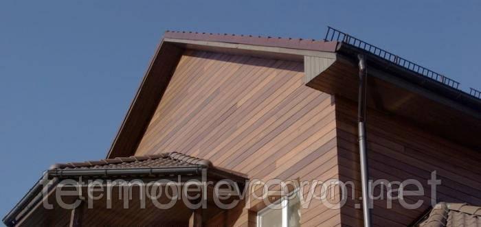 Деревянный фронтон дома