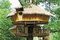 Игровые деревянные детские домики