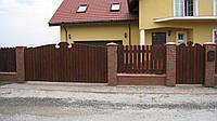 Деревянные ворота и калитки СТС-ЮГ