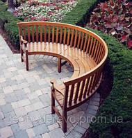 Деревянные скамейки, садовая мебель