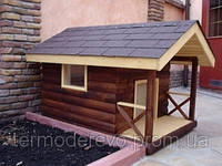 Деревянные будки для собак