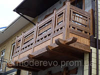 Деревянный балкон СТС-ЮГ