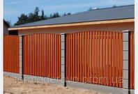Декоративный деревянный забор СТС-ЮГ