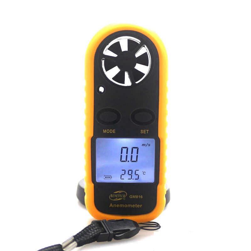 Анемометр, измеритель ветра ручной