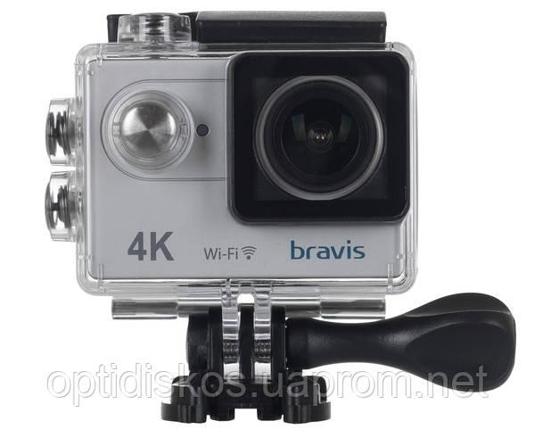 Экшн-камера BRAVIS A1 SILVER