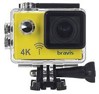 Экшн-камера BRAVIS A3 YELLOW