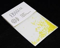 Камни Swarovski пиксели желтые