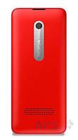Задняя часть корпуса (крышка аккумулятора) Nokia 301 Dual Sim Original Red