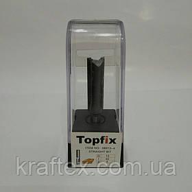 Фреза по дереву  Topfix 08013-4( Прямая пазовая).