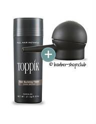 Загущувач для волосся Toppik 27,5 гр. + Апликатор